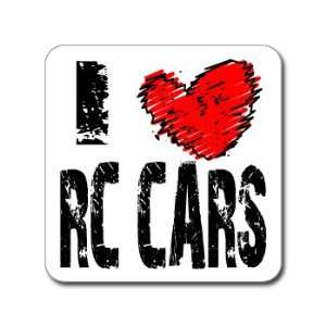 I Love Heart RC CARS   Window Bumper Laptop Sticker