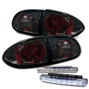 Eautolight 95 02 Chevy Cavalier 2/4 Dr Tail Lights + LED