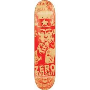 ZERO BAILOUT RED DECK  8.12 ppp