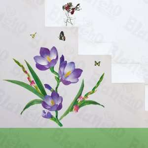 HEMU HL 1256   Flowering Garden   Wall Decals Stickers Appliques Home