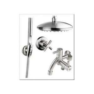Outdoor Shower Company Wall Mount Shower CAP IMBER COLOSSUS Stainless