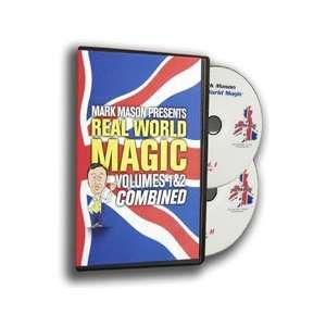 Real World DVD 2 Set JB Magic Trick Close Up Card Coins