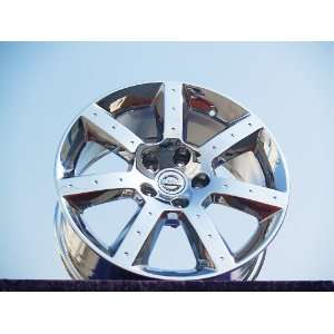 Nissan 350Z Set of 4 genuine factory 17inch chrome wheels Automotive