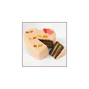 BUSY BEE HEART SHAPED CAKE Grocery & Gourmet Food