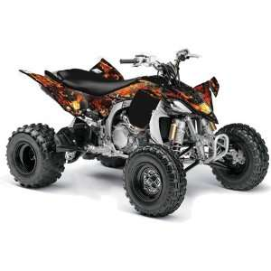 AMR Racing 2009, 2010 Yamaha YFZ 450 ATV Quad, Graphic Kit   Firestorm
