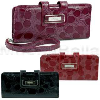 KENNETH COLE REACTION WOMENS TAB CLUTCH WALLET/WRISTLET 077979039478