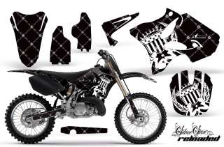 AMR GRAPHICS STICKER DECAL KIT YZ 125/250 YZ250 02 09 R