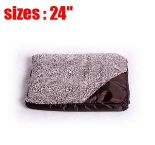 Multi size portable warm soft cat dog pet bed with zipper cover Crate