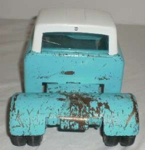 Vintage Nylint Ford Mobile Home Truck & Trailer LOOK