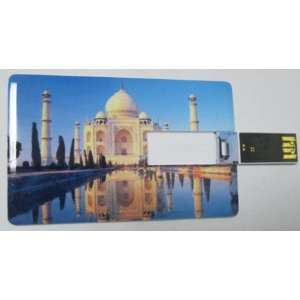 Credit Card Style USB Flash Memory Drive 08  2G