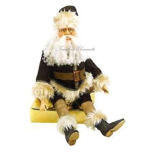 26.5H Sitting Santa Claus, Holiday Decor, Christmas