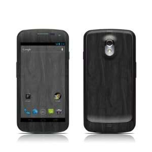 Black Woodgrain Design Protective Skin Decal Sticker for