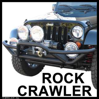 Bumper / Guard JEEP WRANGLER Unlimited JK 4DR/JK 2DR TEXT BLK