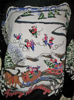 Long Sleeve Christmas Halloween Sweater TOP TOPS XL XLARGE
