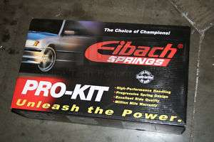EIBACH LOWERING SPRINGS PRO KIT BMW 325e (E30) 1987