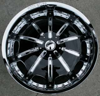 STARR 557 20 CHROME RIMS WHEELS VW EOS TIGUAN CC