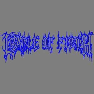 CRADLE OF FILTH (BLUE) DECAL STICKER WINDOW CAR TRUCK
