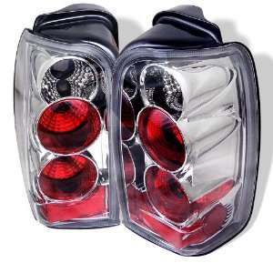 96 02 Toyota 4 Runner Euro Taillights   Chrome Automotive