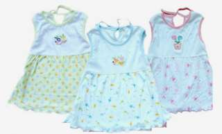 NWT baby girl kids Cotton Dress Clothes 9 18M A02