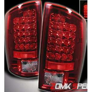 Dodge Ram Led Tail Lights Red Clear Altezza LED Taillights