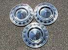 GENUINE 1956 CHEVY BELAIR BEL AIR NOMAD HUBCAPS WHEEL COVERS FACTORY