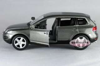 New 138 Volkswagen Touareg Alloy Diecast Model Car Grey B147c