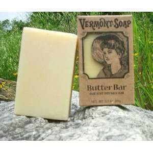Vermont Soap Organics   Shea Butter Bar 3.5 Oz Bar Soap
