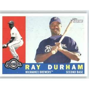 Ray Durham / Milwaukee Brewers   2009 Topps Heritage Card