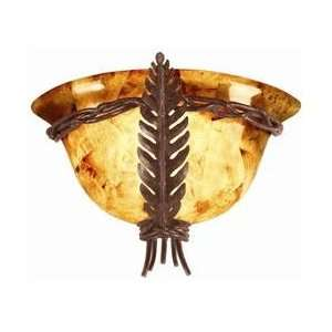 Naples Tropical / Safari ADA Wall Sconce from the Naples Collection