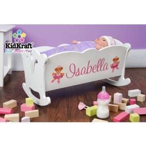 KidKraft Personalized Lil Doll Cradle