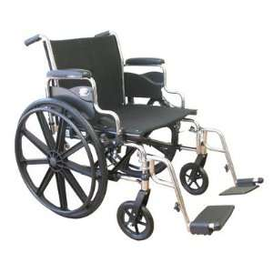Extra Wide Heavy Duty Deluxe Bariatric Wheelchair Seat
