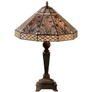 Art Deco Tiffany Style Table Lamp