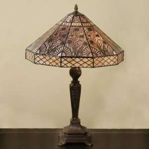29 Art Deco Tiffany Style Table Lamp