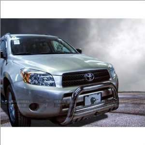 06 11 Toyota RAV4 Black Horse Stainless Steel Bull Bar