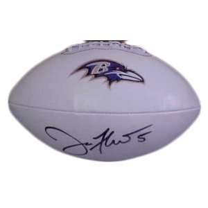 Joe Flacco Hand Signed Autographed Baltimore Ravens Full
