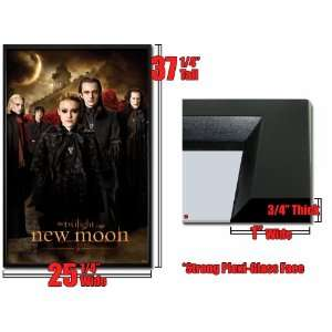 Framed Twilight Poster New Moon Wolf Pac Fr Pas0117