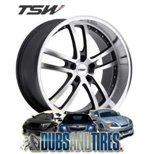 20 Inch 20x10 TSW wheels CADWELL Gunmetal wheels rims