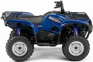 BLUE FLAME Shock Covers Yamaha Grizzly 350 400 450 660