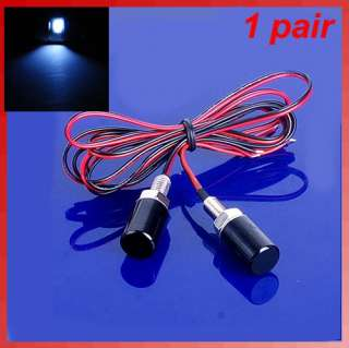 Car Motorcycle White SMD LED License Plate Bolt Light Lamp