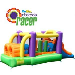Course Speed Racer Inflatable Bounce House and Slide NEW