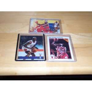 Michael Jordan lot of 3 cards 97/98 fleer #23, 1991 nba