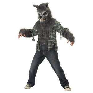 Childs Howling At the Moon Wolf Costume Size Medium (8 10