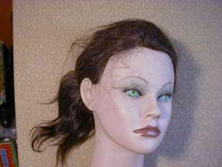 CLIC Real Hair Cosmetology Mannequin Head Male Female