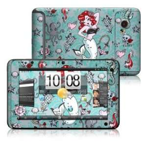 Molly Mermaid Design Protective Decal Skin Sticker for HTC