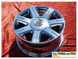 NEW 17 CADILLAC DEVILLE DTS OEM CHROME WHEELS RIMS