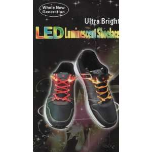 Ultra Bright Blue LED Shoelace Musical Instruments