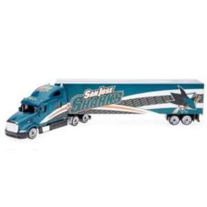 Sharks 08 09 Peterbilt Diecast Tractor Trailer Truck Sports