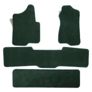 Carpet Floor Mats for Ford Econoline Van (Premium Nylon, Evergreen