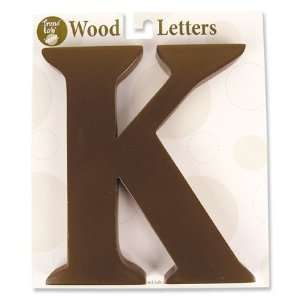 Nursery Baby Decorative Wooden Letter K Baby