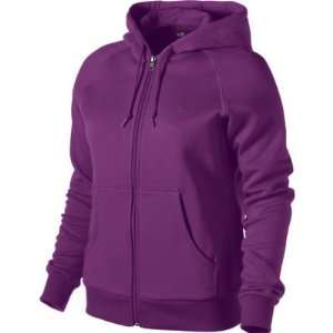 NIKE BRUSHED FLEECE FULL ZIP HOODY (WOMENS) Sports